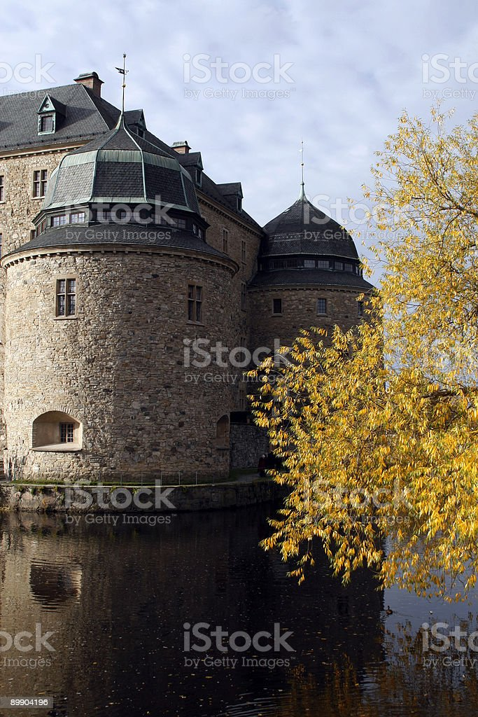 Örebro Castle royalty-free stock photo