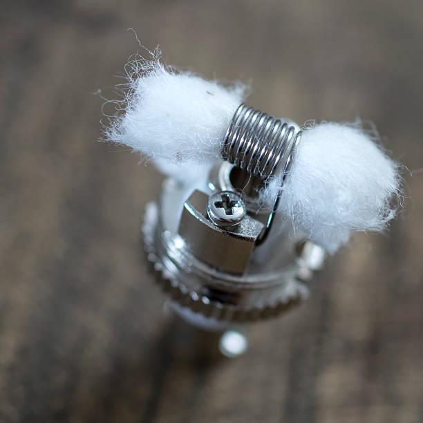 Rebuildable escorrendo Vaping Atomizer, RDA - foto de acervo