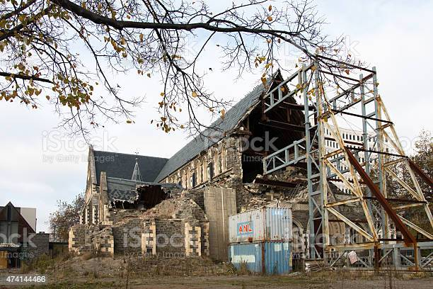 Rebuilding of Christchurch Cathedral