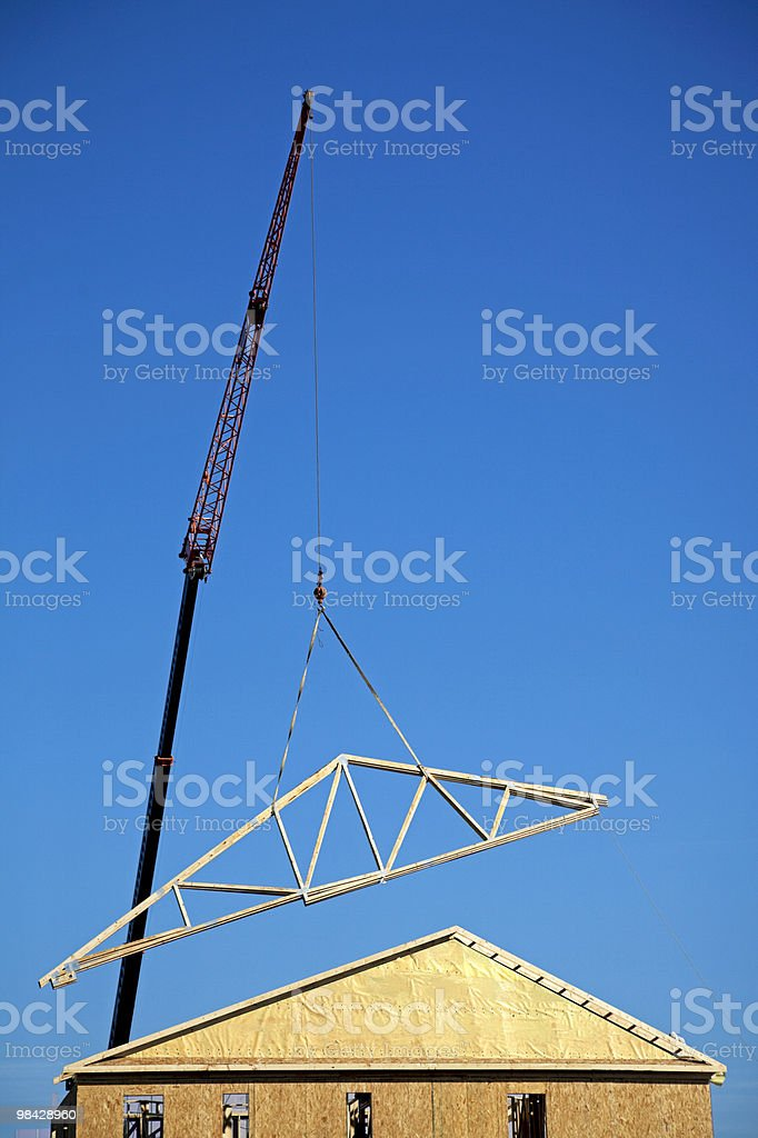 Rebuilding royalty-free stock photo