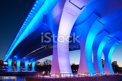 istock Rebuilt 35w bridge in Minneapolis, Minnesota. 143921504