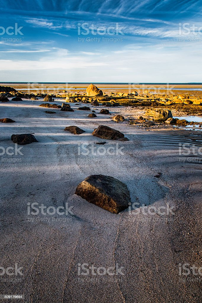 Receding Tide stock photo