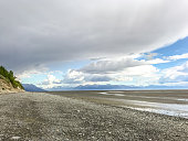 The beauty of Alaska still shines forth despite the receding tide. Wide open spaces shine forth their beauty on this Summer evening.