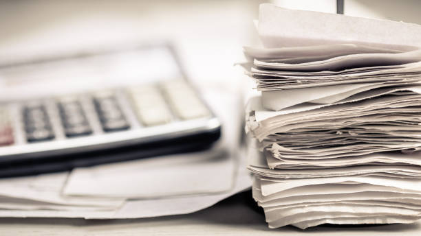 Receipts and Calculator