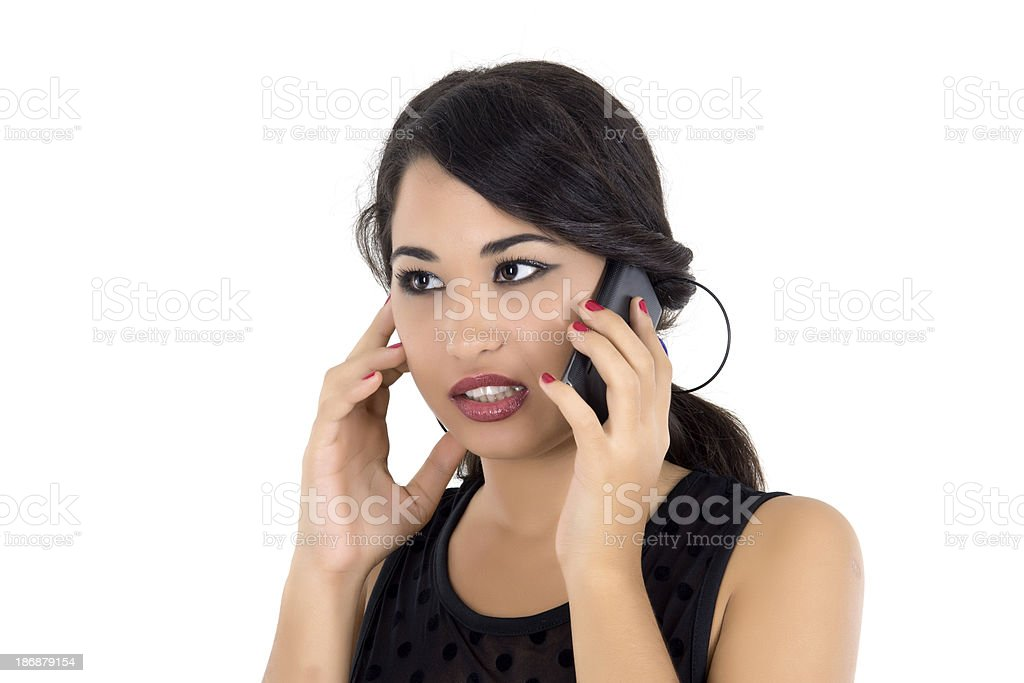 Receiving Bad News royalty-free stock photo