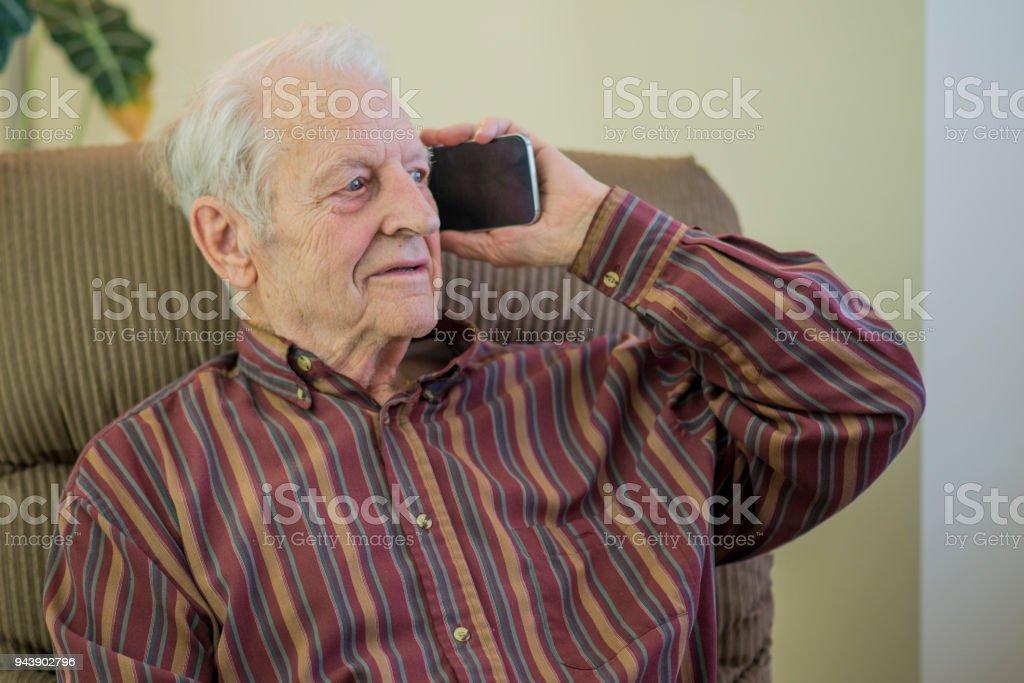Receiving Bad News stock photo