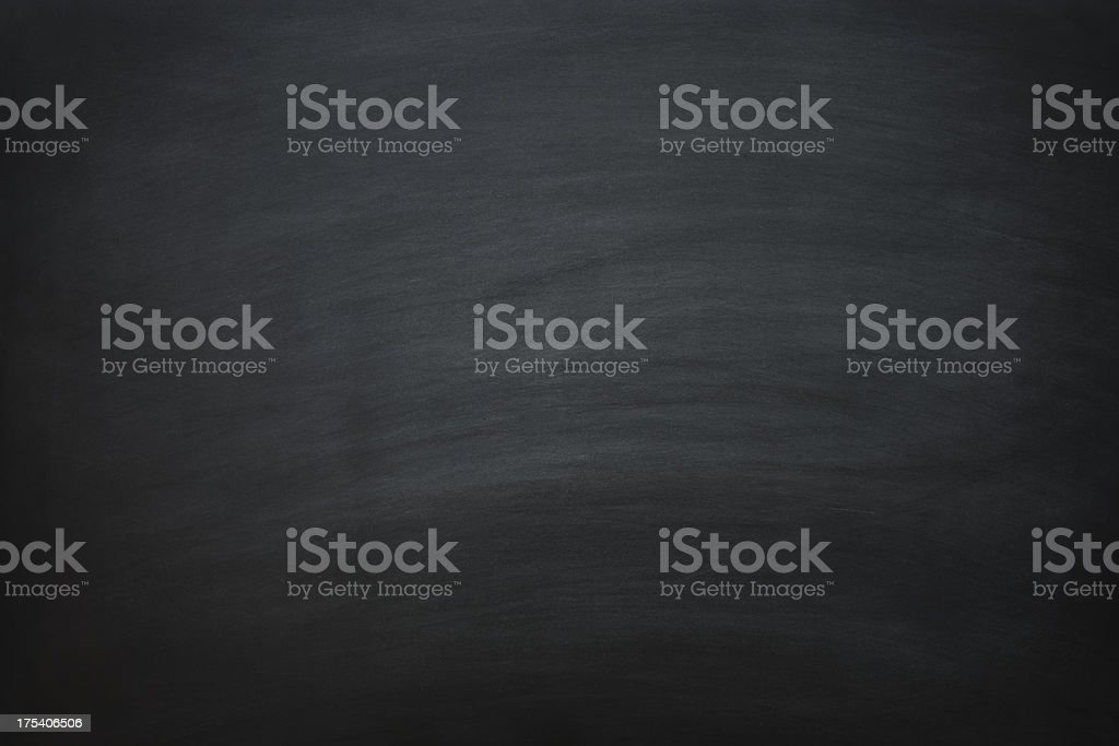 Recently erased black chalkboard royalty-free stock photo