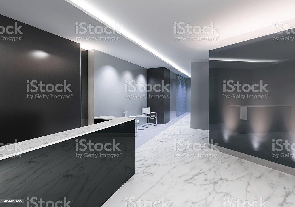 Reception Area stock photo