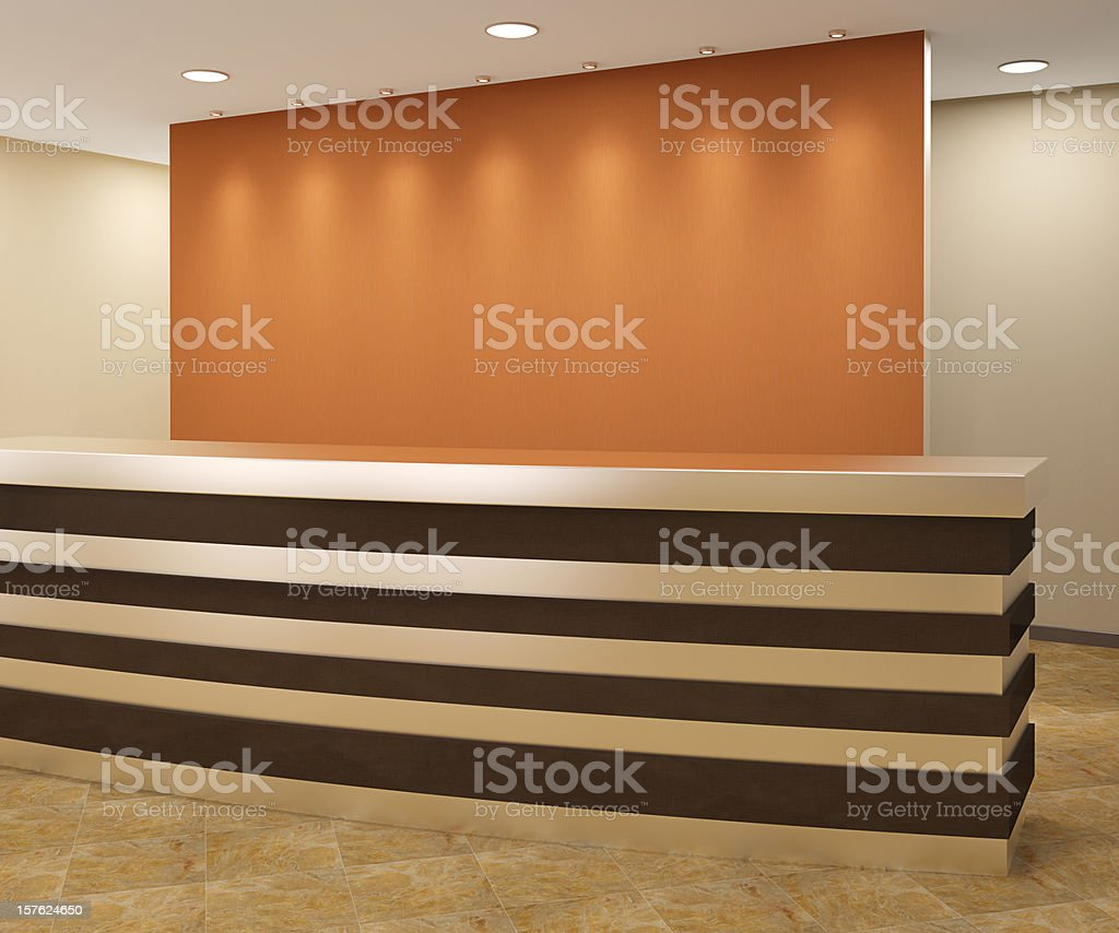 area Reception - foto stock