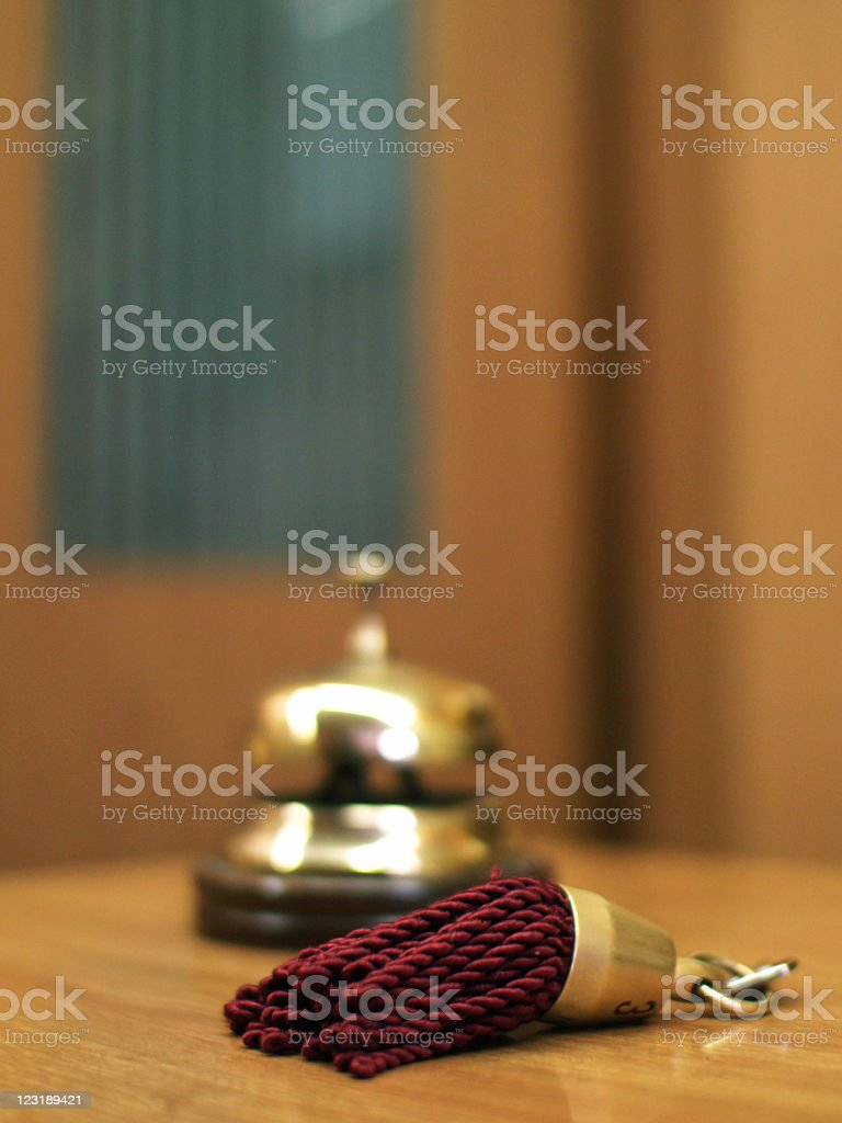 Reception Bell royalty-free stock photo