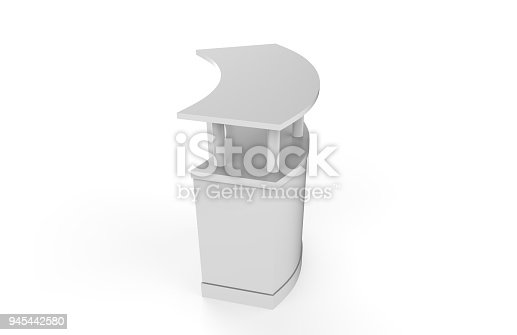 175439992istockphoto Reception Counter Mock-up 945442580