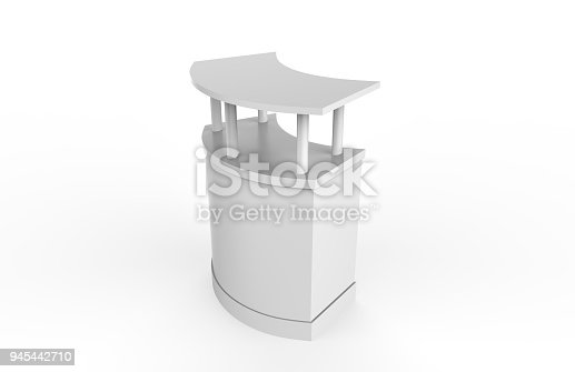 175439992istockphoto Reception Counter Mock-up 945442710