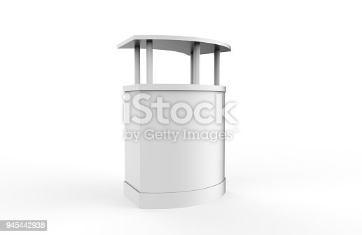175439992istockphoto Reception Counter Mock-up 945442938