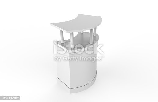 175439992istockphoto Reception Counter Mock-up 945442994