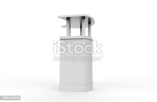 175439992istockphoto Reception Counter Mock-up 945443046