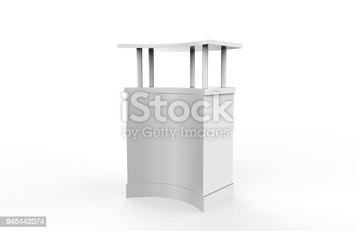 175439992istockphoto Reception Counter Mock-up 945443074