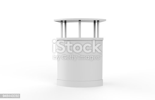 175439992istockphoto Reception Counter Mock-up 945443232