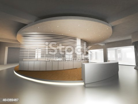 908258590 istock photo Reception Counter 464389487