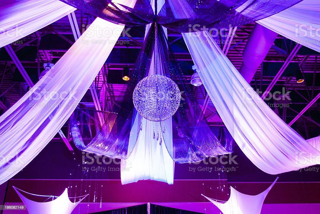Reception Decorations stock photo