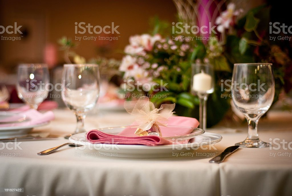 Reception Dinner royalty-free stock photo
