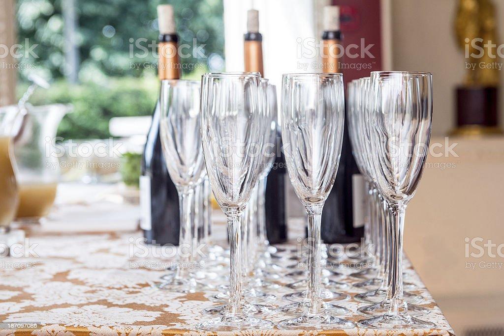 Reception drinks royalty-free stock photo