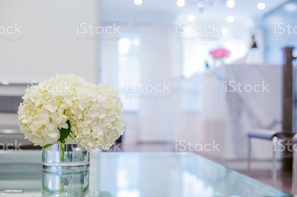 Reception Interior stock photo