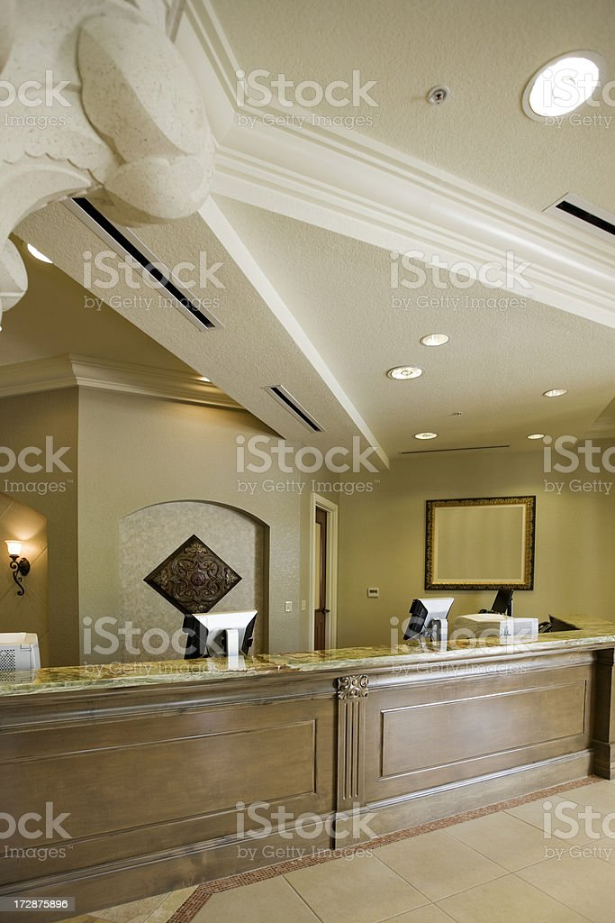 Reception lobby royalty-free stock photo