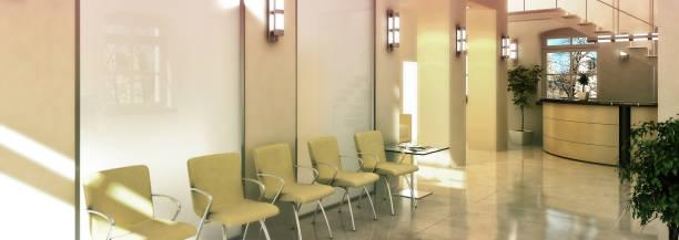 行政 - 3 d 可視化のフロント - 医院 ストックフォトと画像
