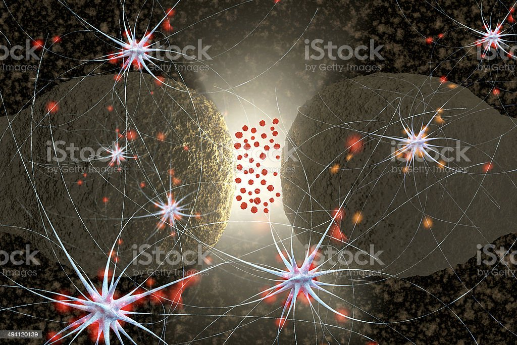 Receptor - 3d rendered illustration stock photo