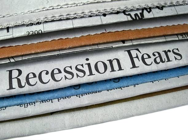 Recession Fears stock photo