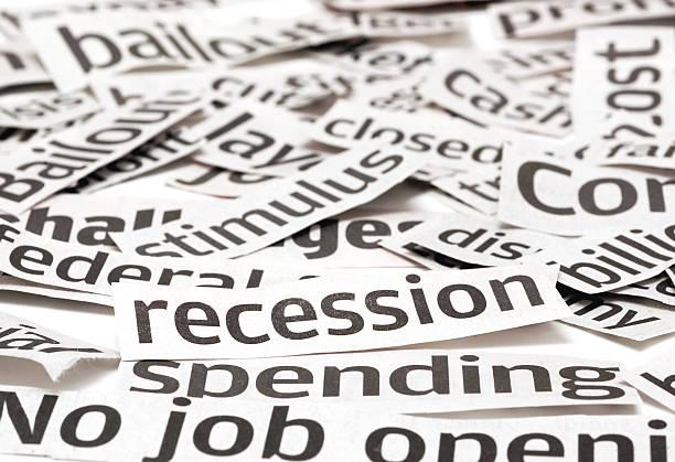 Rezession Schlagzeilen – Foto