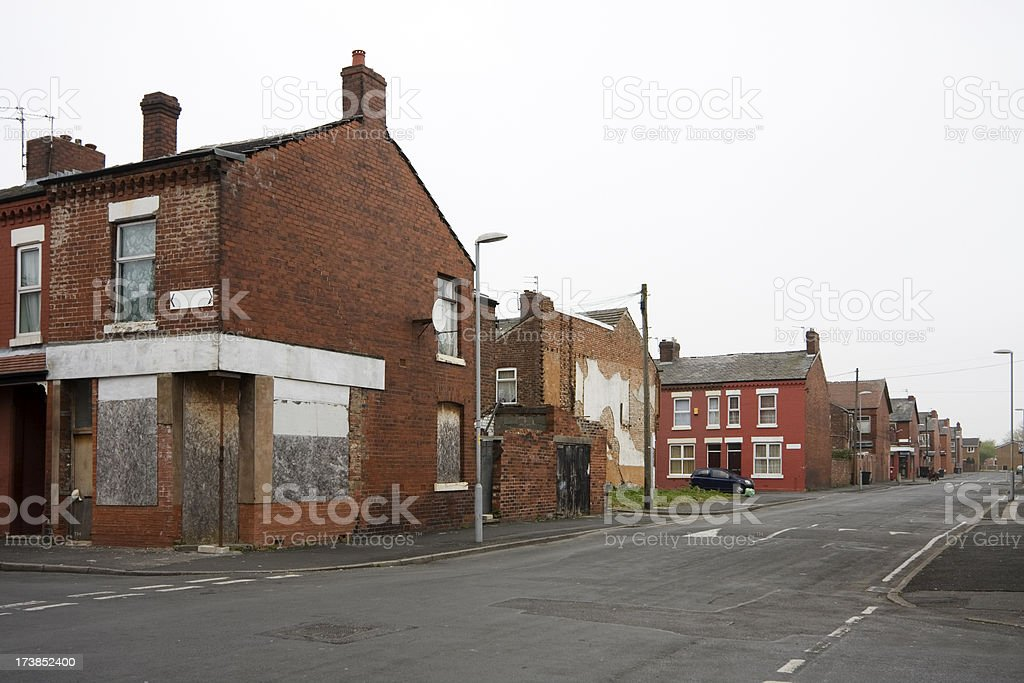 Recession in the city royalty-free stock photo
