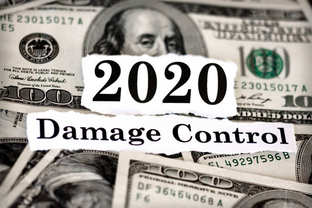 2020 Recession 2020 Damage Control bailout stock pictures, royalty-free photos & images