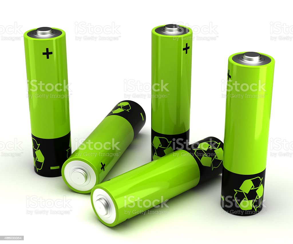 Rechargeable Battery stock photo