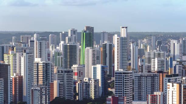 Recife-Stadt im hohen Winkel Ansicht – Foto