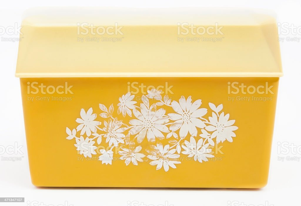 Recipe Box stock photo