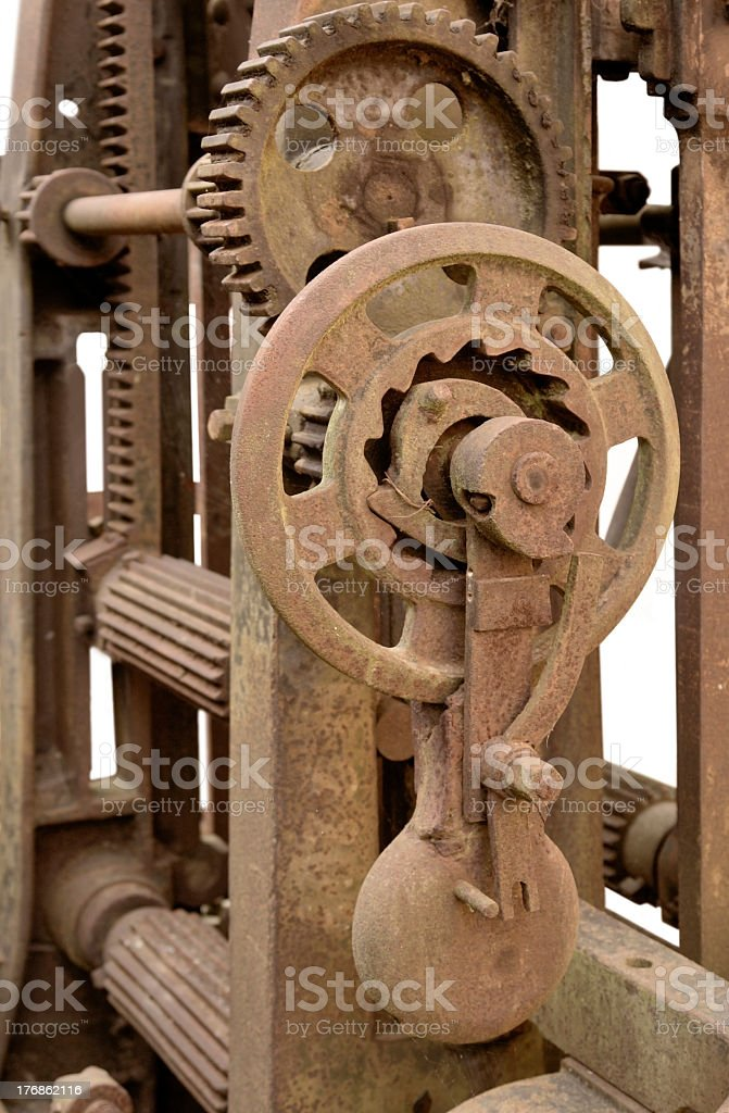 Reciprocating saw detail stock photo