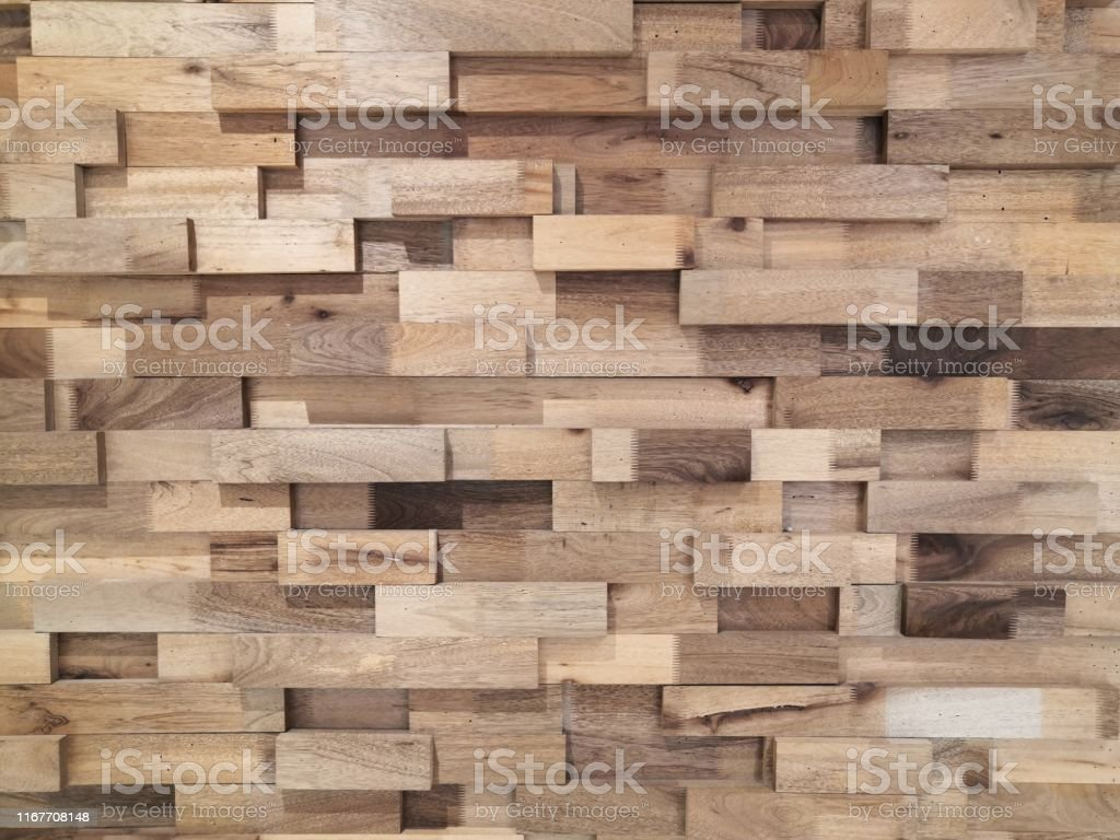 Reclaimed Timber For A Modern Lookreclaimed Wood Wall Paneling Texture Backgroundlayered Wood Plank Wall Decoration Stock Photo Download Image Now Istock