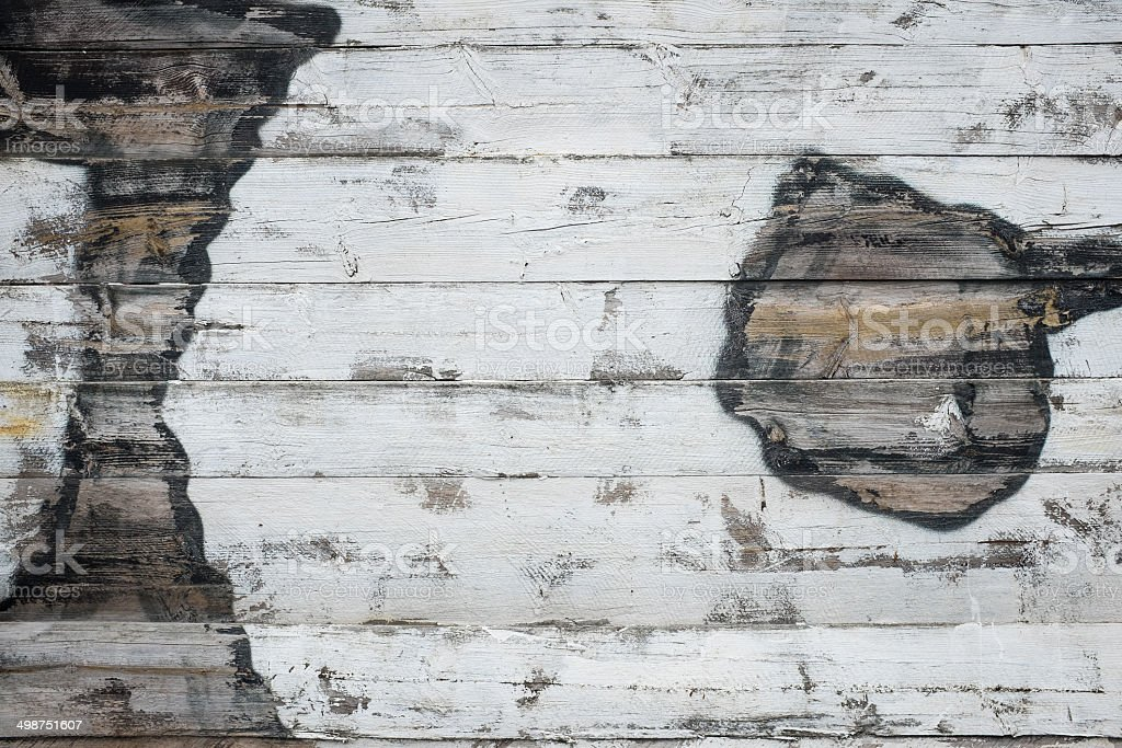 Reclaimed Wood Background royalty-free stock photo