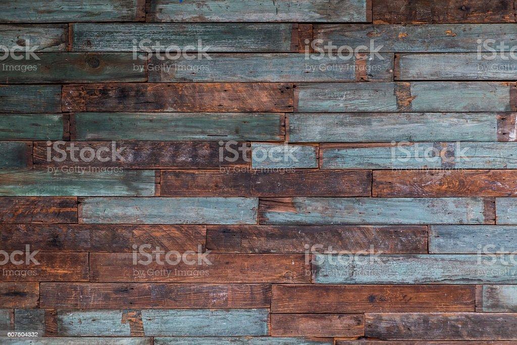 Es wurde nur wiederverwertetes Holz Hintergrund  – Foto