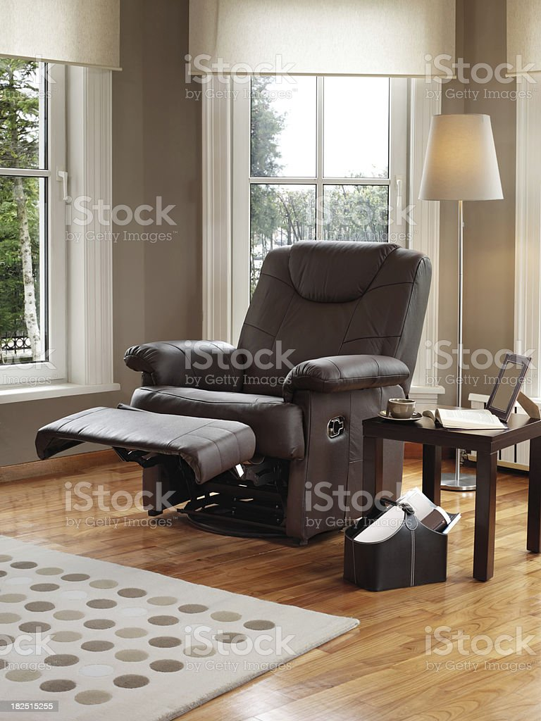Recliner royalty-free stock photo