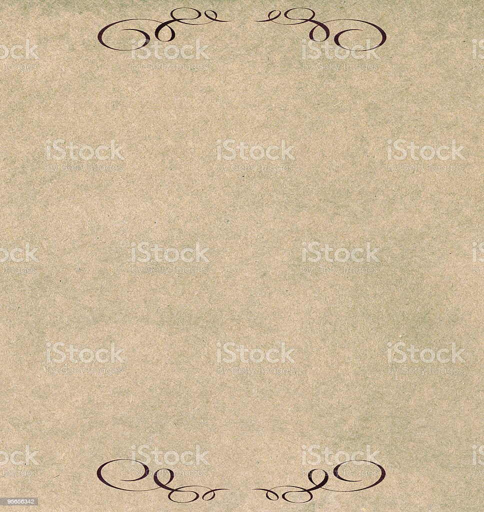 Reclycled Paper stock photo