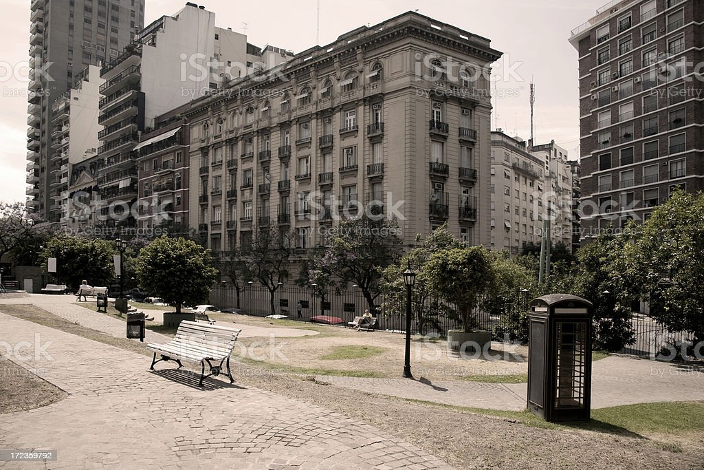 Recoleta, Buenos Aires, Argentina royalty-free stock photo