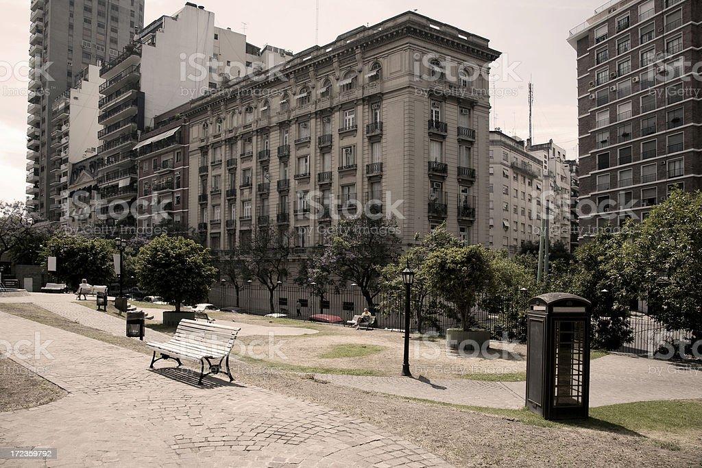 Recoleta, Buenos Aires, Argentina stock photo