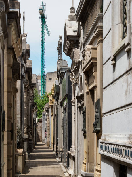 recoleta cemetary - stephen lynn stock pictures, royalty-free photos & images