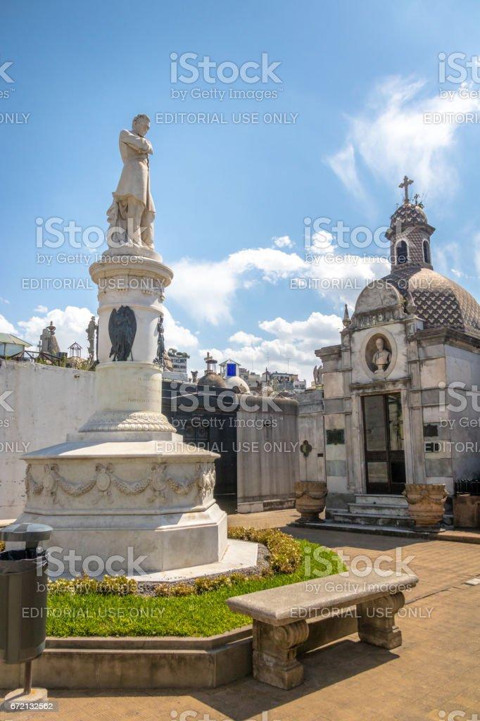 Recoleta Cemetery - Buenos Aires, Argentina stock photo