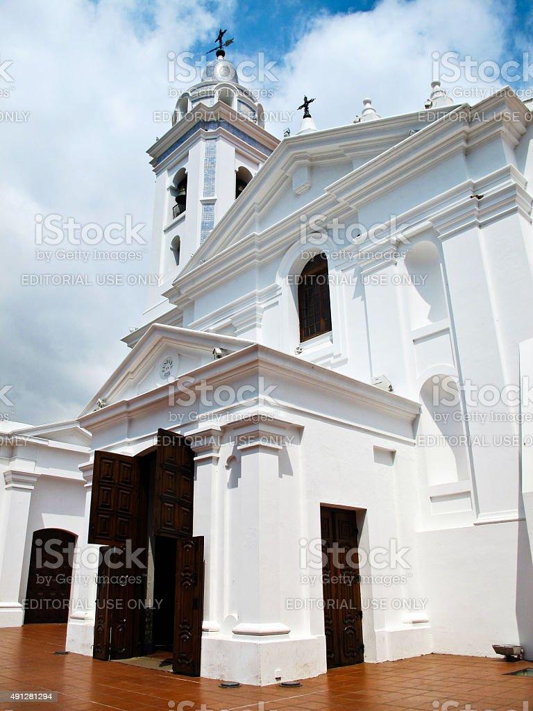 Recoleta de Nuestra Señora del Pilar Igreja em Buenos Aires, Argentina - foto de acervo