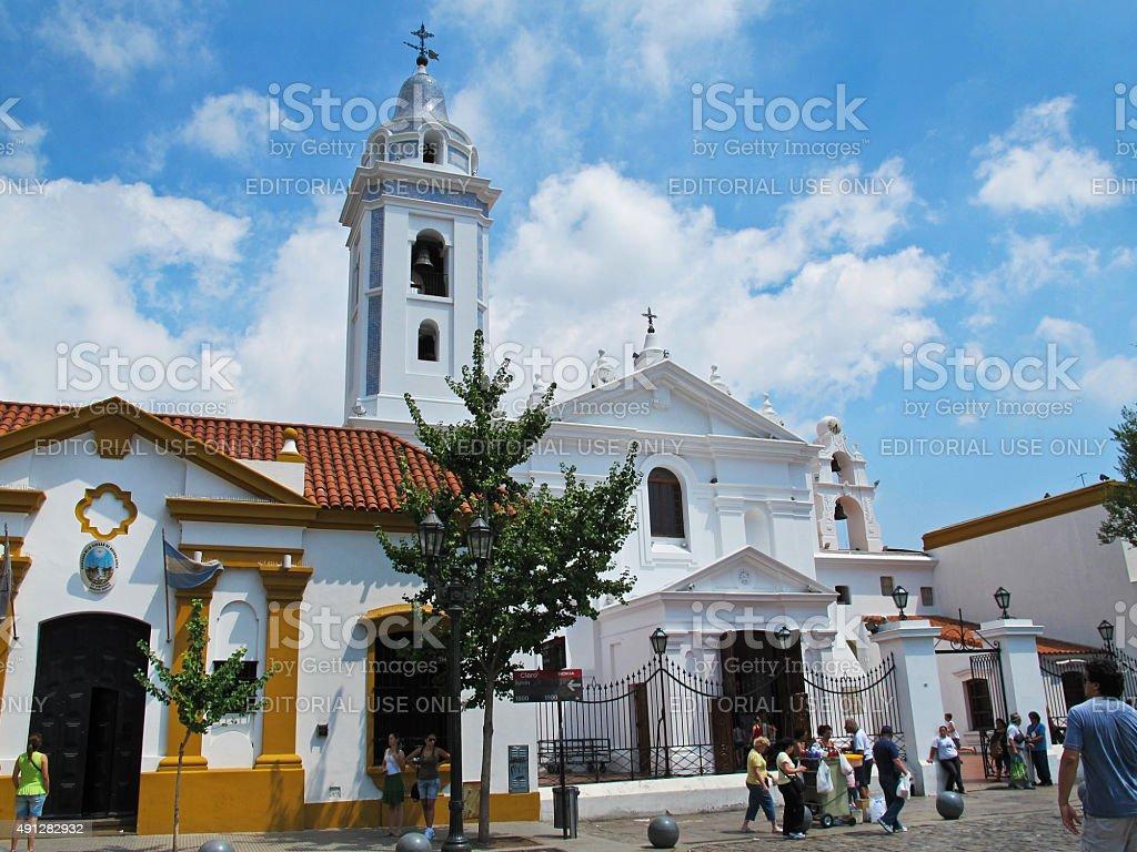 Recoleta de Nuestra Señora del Pilar Igreja em Buenos Aires, Argentina foto royalty-free
