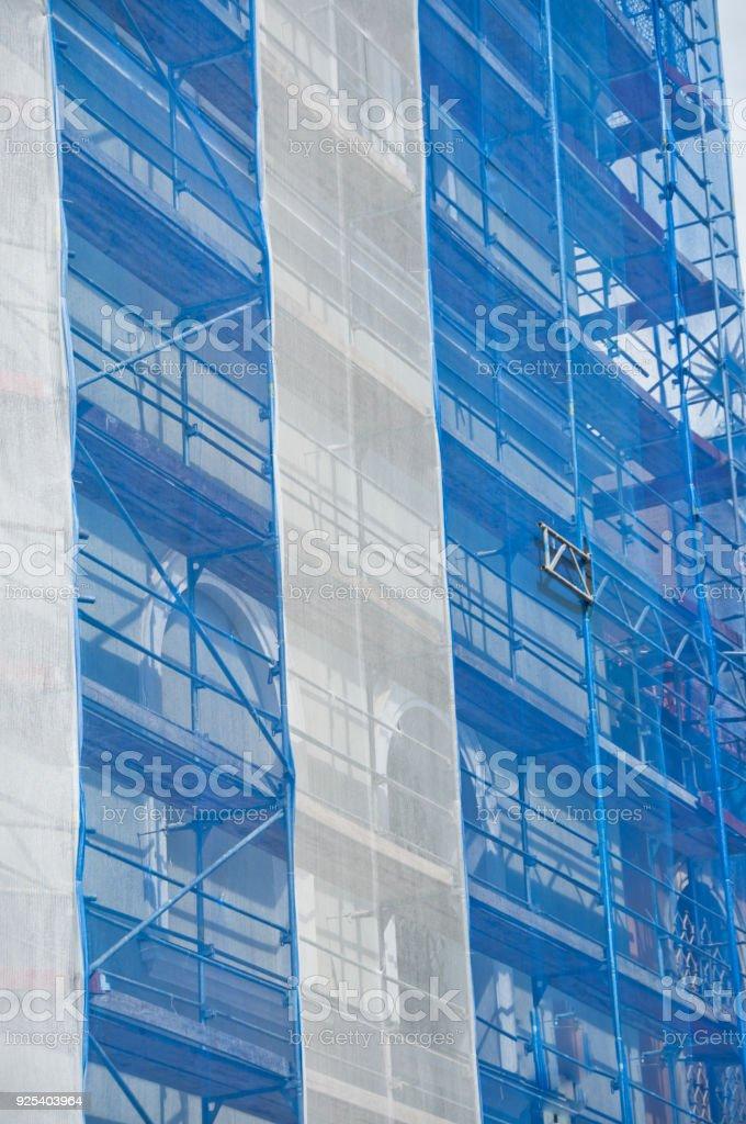 Rekonstruktion des Gebäudes – Foto
