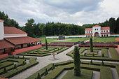 reconstruction of roman villa in borg (Germany)